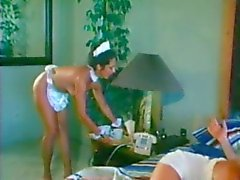 Maid helps Couple with Morning Fuck