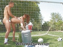 Caring Mom Taylor Wane fucks her son's soccer coach