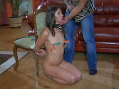 Girlfriend tortured and humiliated