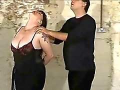 plumper slave tortured with nettles