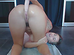 French Legal Age Teenager make anal squirt menacing-menacing Vic Alouqua