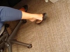 Incredible Office Arches Dangling Ballet Flats