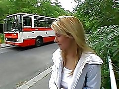 Beauty lured to have public sex