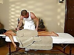 hungry massage actions from voyeur camera