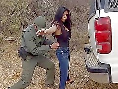 Stunning Mexican floozie Alejandra Leon got banged right in the open