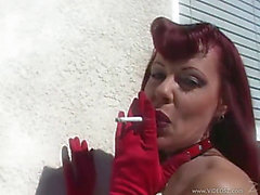 Hawt mother i'd like to fuck in red haunch boots acquires it in all holes