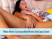 Teen Camgirl riding toys and masturbate anal on webcam