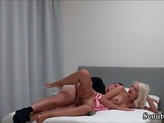 GERMAN TEEN EXTREM SEX WITH ANAL INSERTION and DICK IN PUSSY