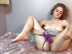Mary Squirts in Doggie then Fucks Herself Silly