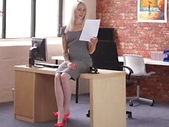 """Fucked At Work"" Erotic Story Read by Ashleigh Doll"