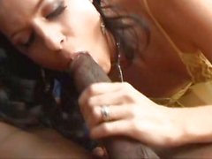 India Summers doesnt have to crave anymore after wet dick in her mouth