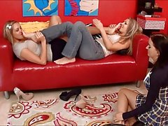 Mom Teacher Student Foot Orgy