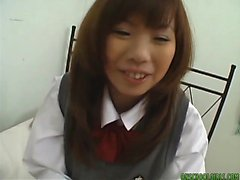 asiatisch, big boobs, pov, teenager, uniform