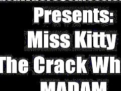 High class anal sex loving crack whore Miss Kitty tells all