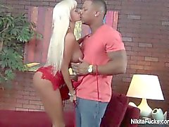 Nikita Von James Fucks A Black Cock
