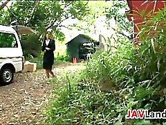 Asian Slave Used And Abused By Workers