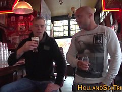Real dutch hooker pounded