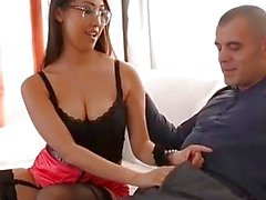 French Asian Hottie S Blowjob And Double Penetration