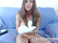 Lelu Love-WEBCAM: Dancing Dildo Vibrator Masturbation Show