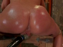 Amy Brooke anus prolapse after a giant squirt