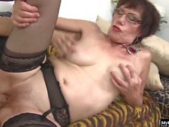 This mature vixen gets fucking naughty Check it out as she spreads her