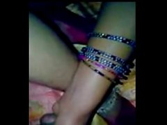 Indian Husband massaging wife's huge boobs and enjoying fuck hard - Wowmoyback