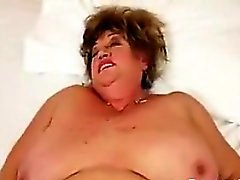 Big Grandma And Her Younger Lover Fucking