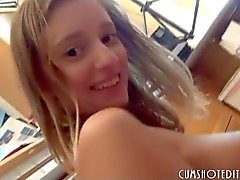Awesome Austrian Amateur Drinking Cum Coffee