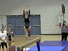 Blonde Teen PAWG Gymnast
