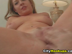 Sexy Hot Chick Fingered On Her Wet Pussy