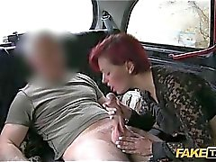 amateur, amateur- porno-videos, blowjob aktion, taxifahrer, auto