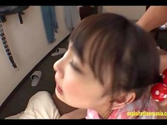 Jav Idol Atobi Sri Pulled By Her Pigtails And Fucked Doggy Cumshot Deep