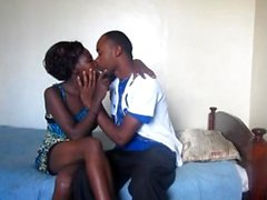 Black South African Teen Couple First Time Amateur Sex