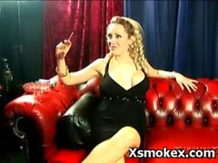 Kinky Erotic Wild Smoking Play