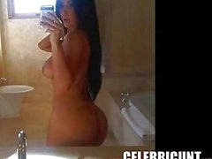 Kim Kardashian Oiled Up Nude Full Frontal and More