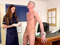 Cfnm fetish nurse sucks cock