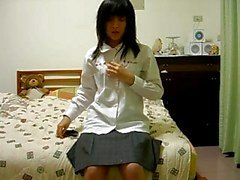 hairy chinese girl on cam