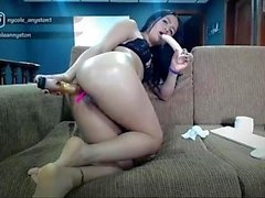 Insane Latina Double Penetration