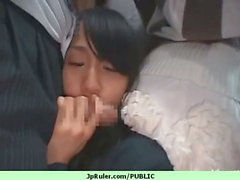 Sexy girl japanese honey nailed in public sex 35