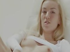 The most fluent blonde pussy seen