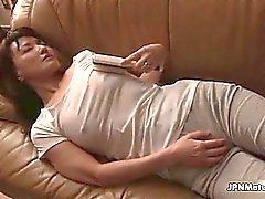 Dirty asian slut gets horny sucking part5