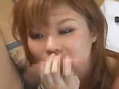 Slim Asian teen loves doggystyle sex