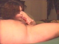 Horny wife loves sucking cock