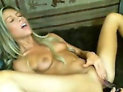 Hot Tattooed Blonde Slut