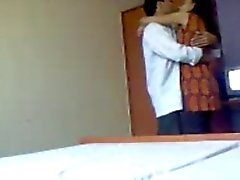 Hot Indian College Couple's foreplay actions