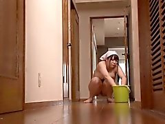 Naked Busty Housekeeper Herbs Chitose