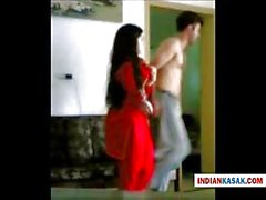 Indian Desi police man enjoying with his gf in home by pornraja