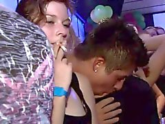 Yong girl fucked hard after dance by dark waiter doggy style
