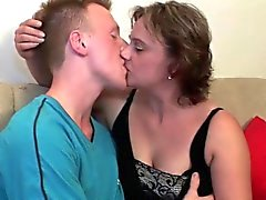 Mom's toy boy does a better job than her husband
