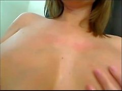 7 Months Pregnant Big Tits Babe Lactating Boobs and Milking